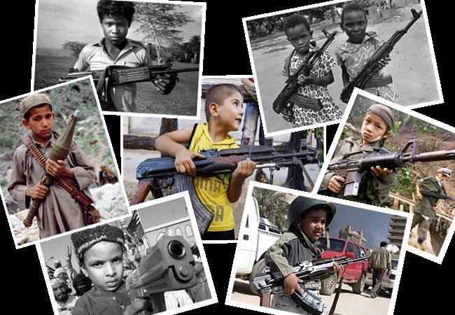 crianças guerra mundo