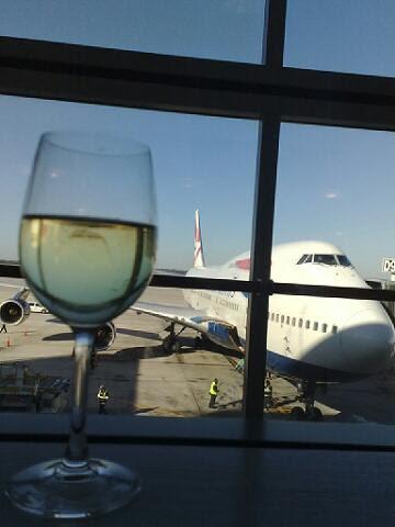 Awaiting my flight by karlakp