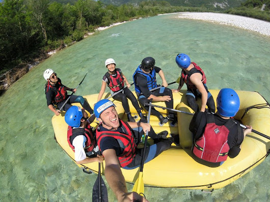 Soca rafting Slovenia - fun rafting with Eurorafting - Crazy sexy fun traveler - travel blog about adventure and spa