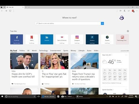 Change Microsoft Edge to Search Google Instead of Bing