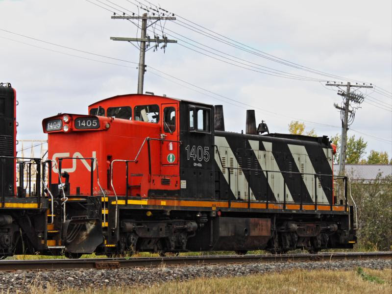 CN 1405 in Winnipeg