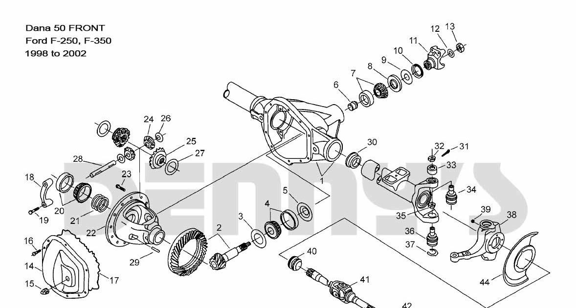 2001 Ford F 250 Wiring Diagram
