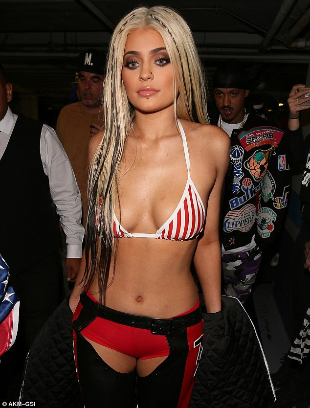 Dirrty! Kylie Jenner got nostalgic for Halloween, dressing up as Christina Aguilera from her Dirrty music video