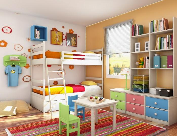 18 Shared Bedroom Idea's For Kids - Emerald Interiors Blog