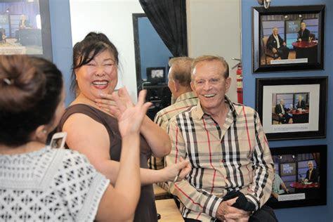 newlywed game bob eubanks  deborah james visit