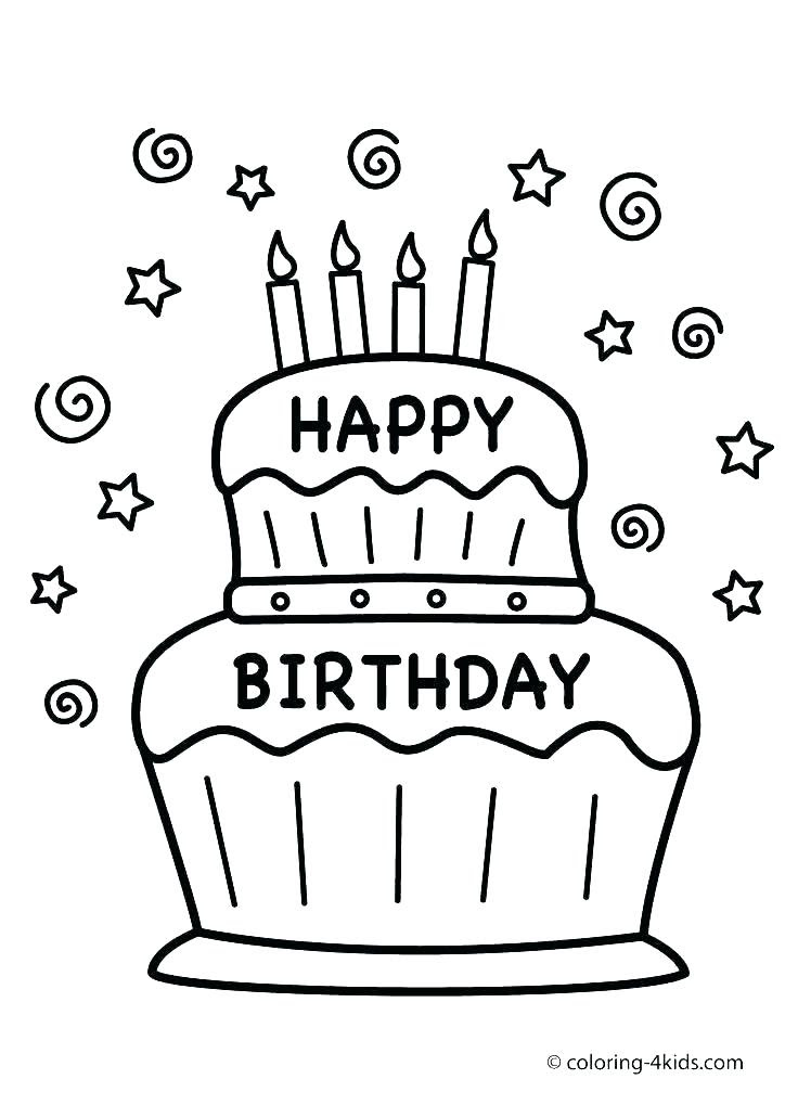 Happy Birthday Nana Coloring Pages at GetColorings.com ...