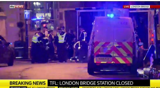 Διπλό τρομοκρατικό χτύπημα στο Λονδίνο: Έξι τα θύματα - Νεκροί και οι τρεις τρομοκράτες - Εικόνα 7