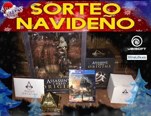 Sorteo Navideño de Assassin's Creed Center