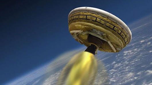 NASA preps revolutionary 'flying saucer' test flight