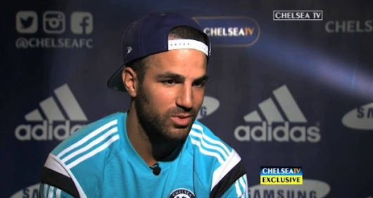 Cesc Fabregas' First Chelsea Interview (Full Video)