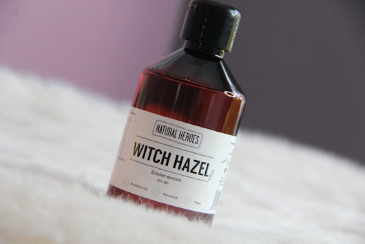 Review: Natural Heroes | Witch Hazel. » Glow Today