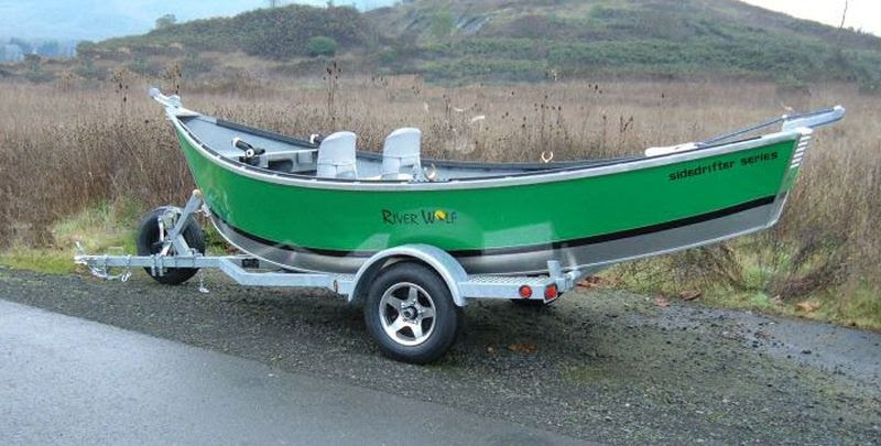 Aluminum Flat Bottom Boats Riverwolf custom boats 16′