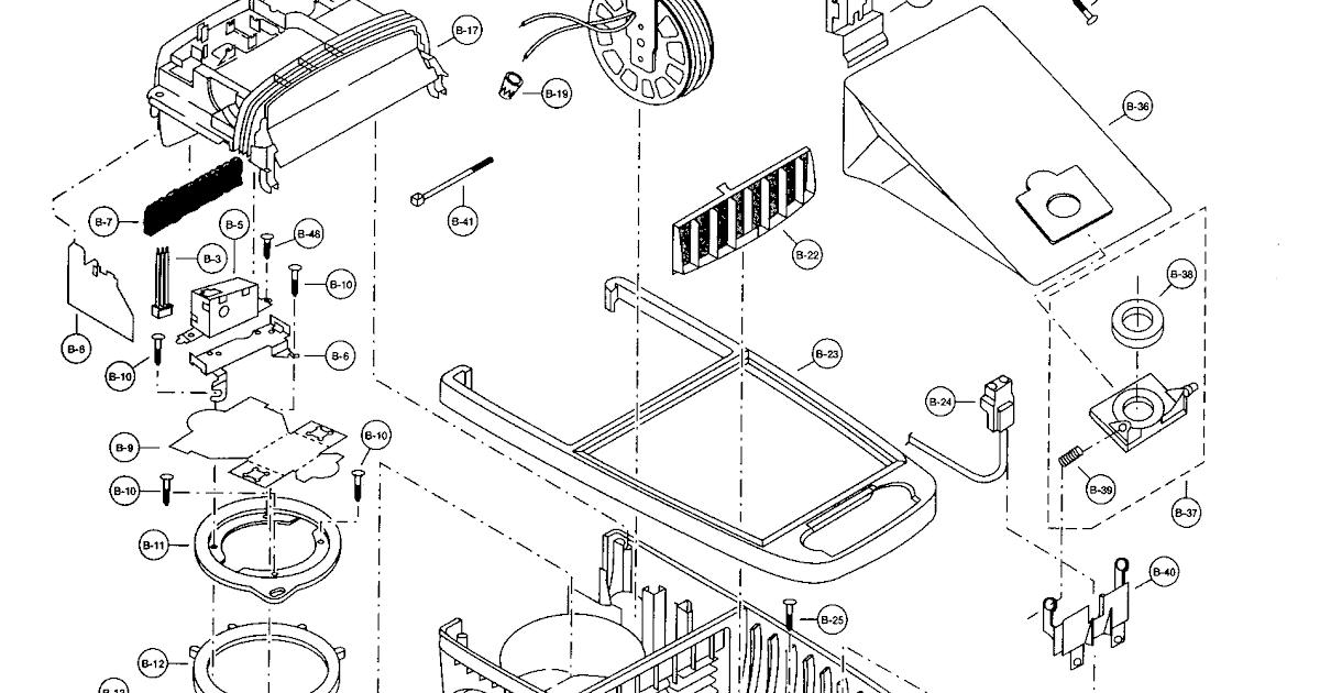 Wiring Diagram  29 Panasonic Vacuum Parts Diagram