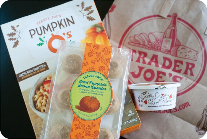 trader joe's pumpkin treats review: part of a weekly review series of tj's desserts and treats