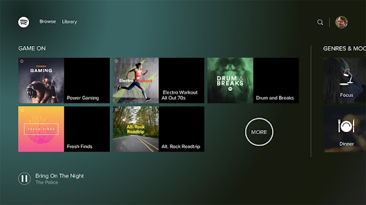 Spotify now available on Xbox One