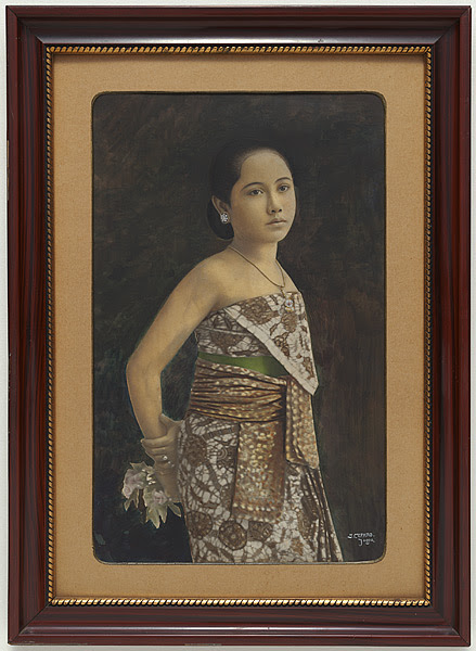 portrait of a javanese woman