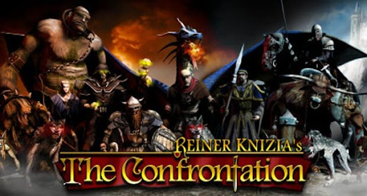 Reiner Knizia's The Confrontation: rundenbasiertes Strategie-Brettspiel neu für iPad