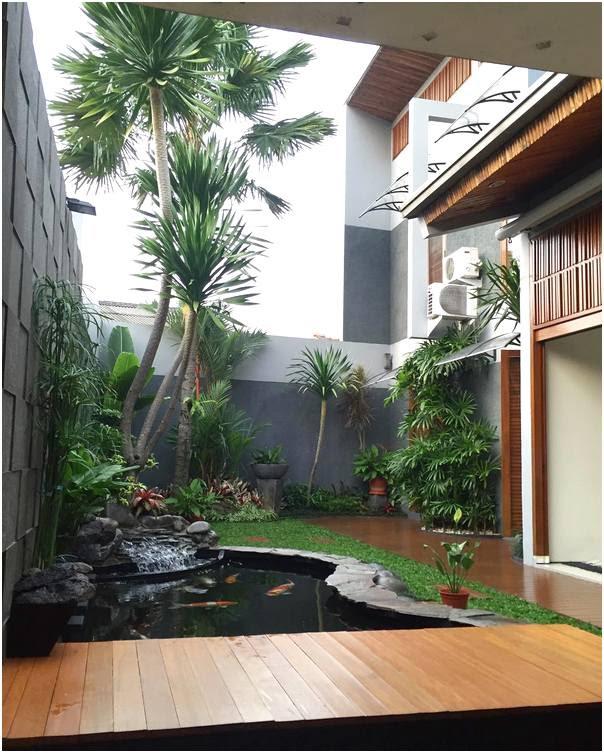 19 Desain Taman Depan Rumah Sempit Minimalis RUMAH IMPIAN
