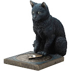 Veronese His Master's Voice Cat Sculpture by Lisa Parker