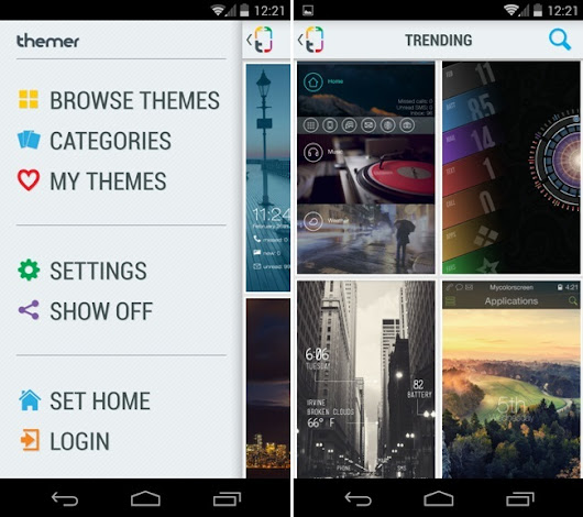 Install Custom Themes on Your Android without Rooting your Device