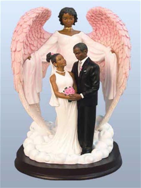 Black Angel Figurines   African American Figurines   Black