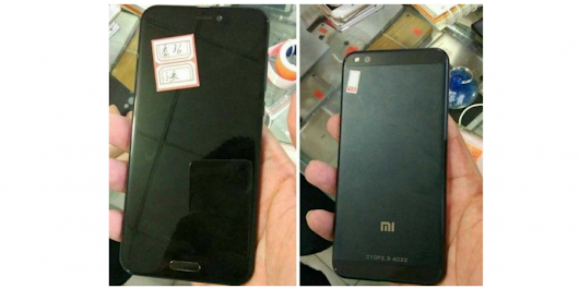 Xiaomi Mi 6 Leaked in Photos ahead of February Launch