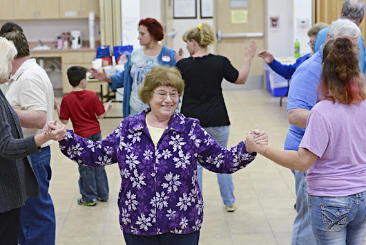 Turn to your partner: Square dancing not just a small-town night out