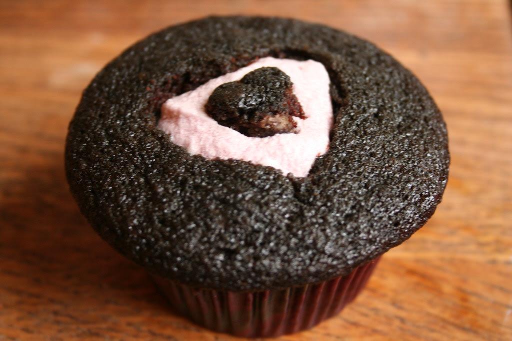 Chocolate Merlot Cupcake