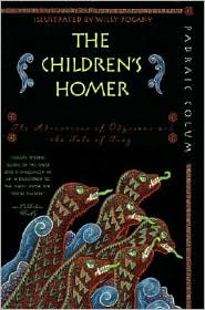Children's Homer by Padraic Colum: Book Cover