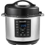Crock-Pot - Express Crock 6-Quart Pressure Cooker - Stainless Steel
