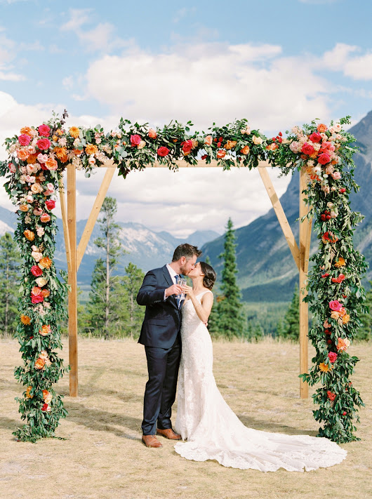 Tunnel Mountain Reservoir Wedding