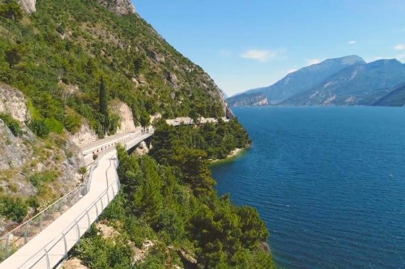 """Garda by Bike, uma ciclovia batizada de """"mais bela de toda a Europa"""""""