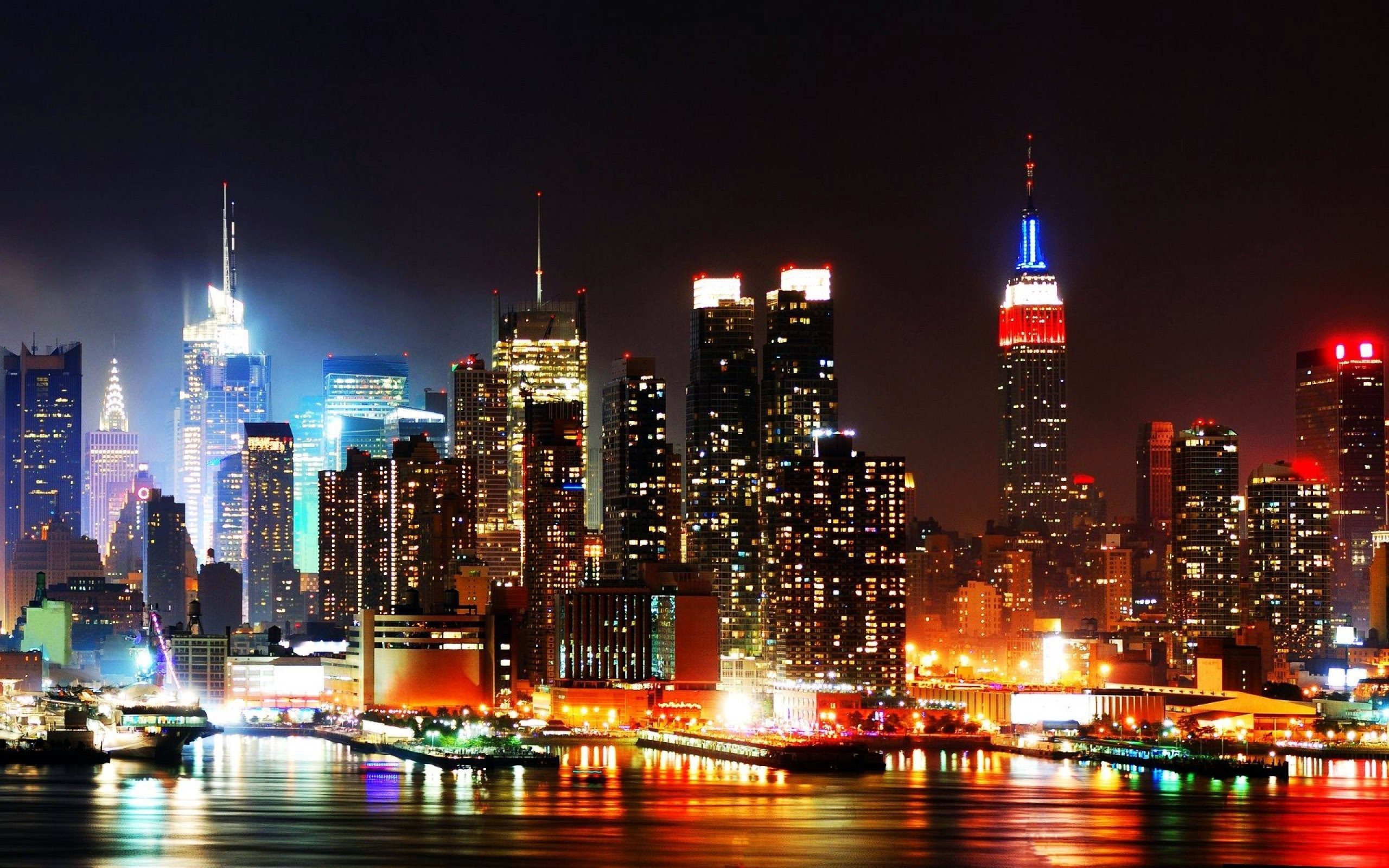 Wallpapers And Screensavers Ny Skyline 64 Images