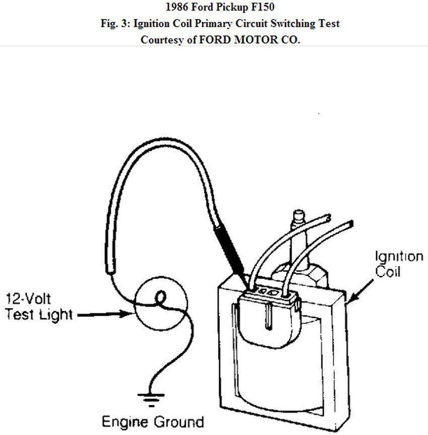 Wiring Diagram Database: Ford Ignition Coil Wiring Diagram