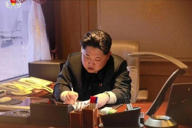 Coreia do Norte ameaça Seul e Estados Unidos com ataque nuclear preventivo YONHAP / NORTH KOREAN TV/AFP