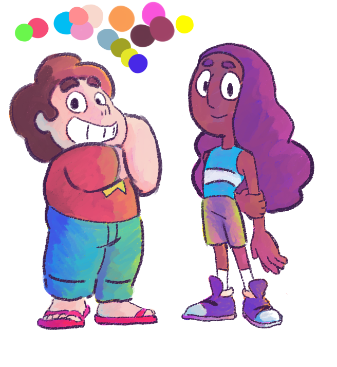 """We're ready to go if you are!""  Part 1 of a series of color tests."