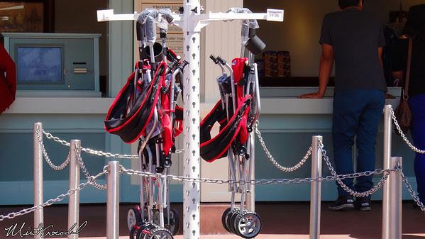 Disneyland Resort, Stoller, Strollers