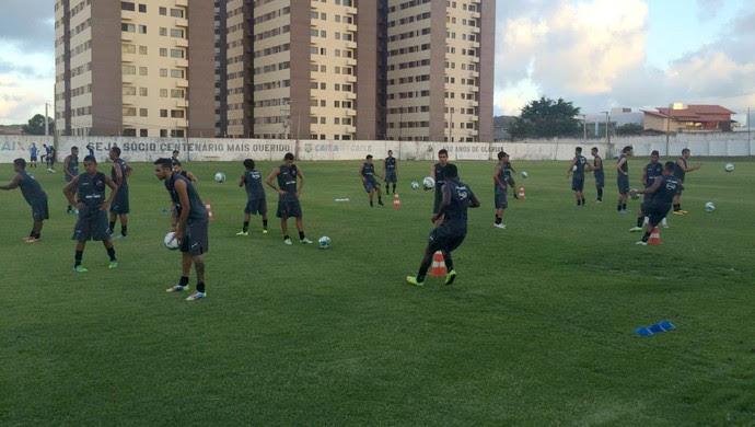ABC treino reapresentação CT Alberi Ferreira de Matos (Foto: Luiz Henrique/GloboEsporte.com)