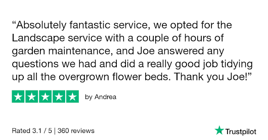 Andrea gave Grab a Gardener 5 stars. Check out the full review...