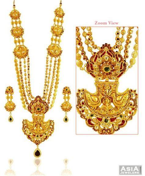 Designer 22k Heavy Gold Set   AjNs58259   Beautiful 22k