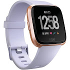Fitbit Versa Smartwatch with Small & Large Bands - Periwinkle/Rose Gold