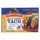 Garden of Eatin' Blue Corn Taco Dinner Kit - Blue Corn - Case of 12 - 9.4 oz.