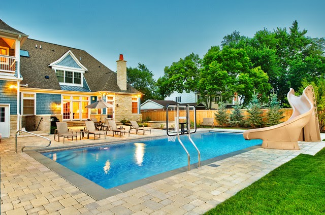 Design Ideas For A Traditional Pool In Chicago Publish Homedec Design