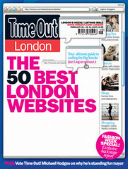 Time Out's 50 Best London Websites Feature