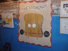 The Strongman banner