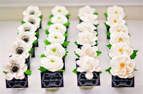 DK Designs: Bridal Shower Favors (White and Black Theme)