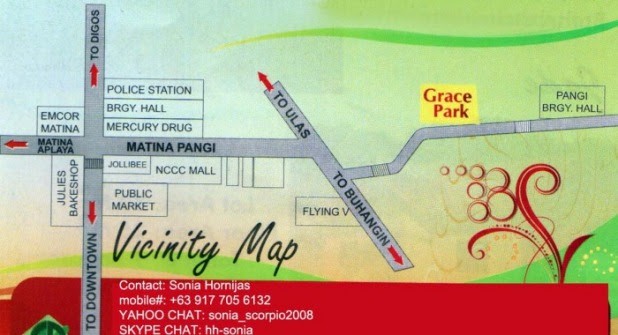 Grace Park is a subdivision in Matina Pangi Davao City. Find affordable house and lot in this Davao low-cost housing. Search for Matina houses here.