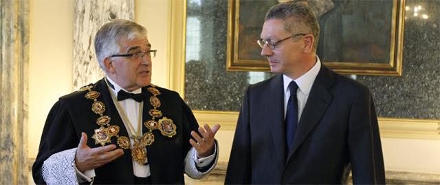 Los afines a Gallardón en el Poder Judicial frenan la investigación del 'caso Urdangarín'