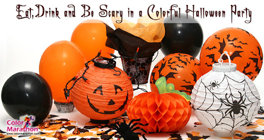 How to Throw Creative Halloween Party with Colors | MeetRV