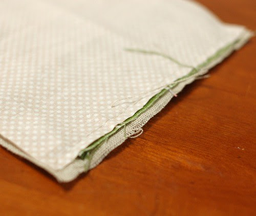 How to make a petit pouch 20